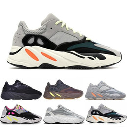 Canada Kanye West 700 Wave Runner hommes femmes Chaussures de course Static Inertia OG Solide Gris Mauve Inertia Geode Designer Chaussures Sport Baskets Avec Boîte Offre