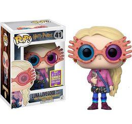 Adorable FUNKO POP Collezione Harry Potter Modello Giocattoli per bambini Luna Glasses Doll 2019 Action Figure Giocattoli per bambini per bambini da