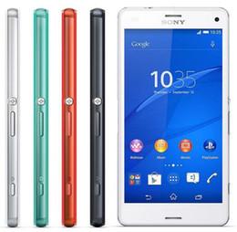Teléfono sony xperia z3 compacto online-Reacondicionado Original Sony Xperia Z3 Compact D5803 Quad Core 2GB / 16GB 4.6 pulgadas 20.7MP Cámara 4G Lte desbloqueado teléfono móvil