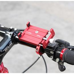 2019 support de chargeur de voiture iphone 5s support de bicyclette de support de bicyclette d'alliage d'aluminium de bicyclette de navigation de téléphone portable de voiture pour les motos électriques