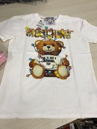 Heißes schwarzes männer tshirt online-Paar Marke T Shirts Brief Drucken TShirt Weiß Schwarz Herren Designer T Shirt 2019 Neue Mode Hip Hop Hot Männer Kleidung Casual Größe S --- 2XL