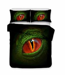 Cómo entrenar a tu dragón Siglo Jurásico Tyrannosaurus Rex 3D impreso 2 / 3pcs juego de cama para niños Fundas nórdicas Fundas de almohada desde fabricantes