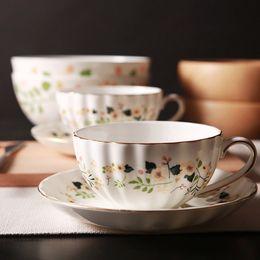 Ensemble de tasse à thé britannique royal britannique tasse à café européen Phnom Penh idyllique tasse en céramique haute os giftl [Royal Woodville] ? partir de fabricateur