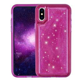 VAKA MATE Iphone x Durumda Hybird bling kristal Jöle Telefon Tpu Pc Basınç Azaltma Arka Kapak Kılıfları iPhone 6 7 8 Artı vaka nereden