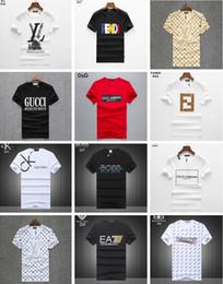 homens slim fit Desconto Venda quente Moda PP Camiseta Hip Hop Medusa Dos Homens verão D2 Camiseta de Manga Curta Casuais T-Shirt Dos Homens Slim Fit Mens Tops Tees