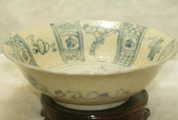 ciotole di porcellana bianco Sconti Belle porcellane antiche in porcellana bianca e blu dipinte in porcellana