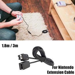 Deutschland 1,8 Mt / 3 Mt Für Nintendo Gamepad Verlängerungskabel Draht Game Extender Kabel Controller Linie Für SNES Wii Controller MINI NES Classic Edition Versorgung