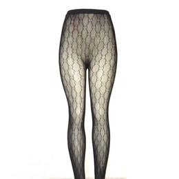 Verpackung für socken online-Luxus Frauen Strümpfe Marke Designer Schwarze Strumpfhosen Lady Sexy Strümpfe Qualität Aushöhlen Socken Mit G Paket Box
