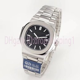 relojes de lujo hombres pp Rebajas Reloj de lujo japonés Miyota 8215 mecánico automático hombres reloj de acero inoxidable correa Nautilus alta calidad pp reloj reloj deportivo montre