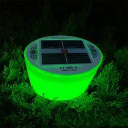 Schwimmausrüstung online-Buntes Inflations-Lampen-Weihnachten verzieren helle Sonnenenergie geführte Lager-Hof-Schwimmen-Ausrüstung wasserdichtes Fishingportable 19 8btvf1