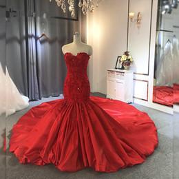 Bainha vestido de noiva de renda doce on-line-Lace Red Vintage Appliqued sereia Vestidos de baile Sexy Docinho Lace-Up Voltar Bainha Vestido de Noite Longa Plus Size Formal vestido de festa