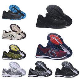 nuevas zapatillas asics Rebajas ASICS 2019 Nuevo GEL-Nimbus 20 Originals Zapatillas de running para hombre vermeil verde oliva T800N-4949 Zapatillas de deporte de diseño Zapatillas de deporte 40.5-45