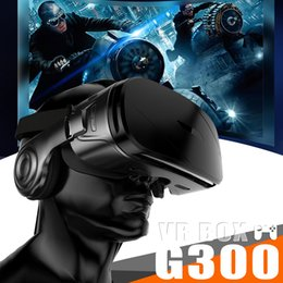 G300 VR BOX Super Bass 3D VR очки Box гарнитура для 4.5-6.2 дюймов IOS Android-смартфон с розничной упаковке от Поставщики смотреть очки оптом
