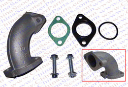 26MM Intake Manifold Kit With Gasket 110CC 125CC 138CC 140CC 150CC 160CC  Taotao Kaya Apollo Lifan Sunl Dirt Pit Bike Parts