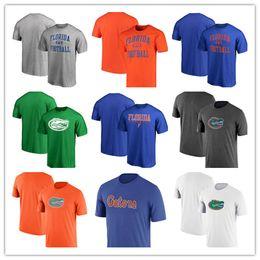 Florida Gators School Logo T-shirt à manches courtes T-shirt col rond T-shirt à col rond T-shirt livraison gratuite ? partir de fabricateur
