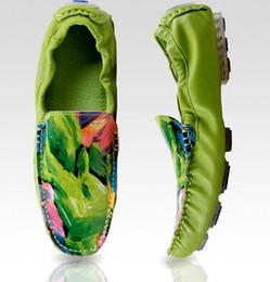 2019 mocassins 2019 nouveaux hommes chaussures de sport crâne pois chaussures mode respirant griffonnage mocassins chaussures en cuir véritable conduite hommes mocassins promotion mocassins