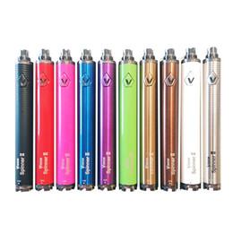 Ego cigarette électronique prix de gros en Ligne-Prix de gros Vision spinner 2 II 1600 mah Ego C twist Vision2 Batterie E Cigs Cigarettes Électroniques eGo atomiseur Retail Package DHL