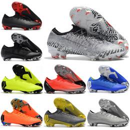 47fb9dce4 Neymar 2019 Mens Low Ankle Football Boots CR7 Mercurial Vapors XII VII Elite  FG Soccer Scarpe Superfly VI 360 ACC Soccer Cleats stivali vapore  mercuriali ...
