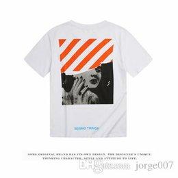 Erkek tasarımcı pamuk t gömlek severler ince kesit kısa kollu gelgit marka Monroe beyaz dimi yuvarlak boyun t gömlek yaz gelgit cheap round neck white t shirts nereden yuvarlak boyun beyaz tişörtler tedarikçiler
