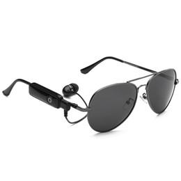 telefone oval Desconto Óculos inteligentes sem fio Bluetooth óculos de sol esportes fones de ouvido MP3 player Bluetooth fone de ouvido sem fio Bluetooth óculos HD lentes