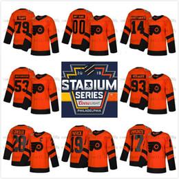 1484b6d02 Custom 79 Carter Hart Philadelphia Flyers 2019 Stadium Series Men Lady Kids 28  Claude Giroux Wayne Simmonds Travis Konecny Provorov Jersey