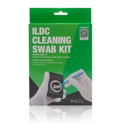 vetri bagnati Sconti Sensore pulizia sensore fotocamera ILDC tamponi fluido pulito 12PCS + CCD / CMOS pulizia per fotocamere digitali mirrorless