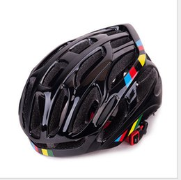 road bike helmet for women Promo Codes - New Bicycle Helmets Ultralight Men Women Bike Helmet Mountain Road Bike Integrally Molded Cycling Helmets for Teenager