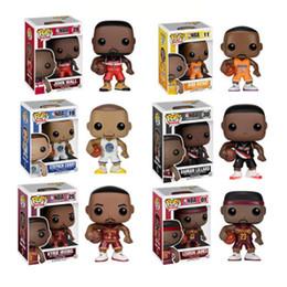 2019 figuras das estrelas Funko pop Star Sports Jogador de Basquete Kobe Stephen Caril Vinil Action Figure Collectible Toy Modelo para Os Fãs desconto figuras das estrelas