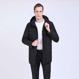 темные мужские стили одежды Скидка TALIFECK 2019 New Wadded Jacket Coats Men's spring autumn Jacket Men  clothing quality Fashion style male Dark Blue