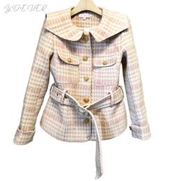 Lunga Di Tweed Jacket Giacca 2019 Inverno Runway Sconti Delle Women New Signore Designer Coat adpxxw56q