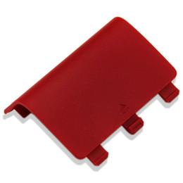 xbox una batería del controlador Rebajas Venta caliente Tapa de la batería Tapa de la cubierta Reemplazo ABS Tapa de la batería Tapas de la puerta trasera para XBOX One Wireless Controller
