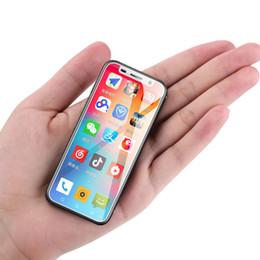 Сотовые телефоны mini wifi онлайн-Оригинальный Melrose 2019 4G LTE Смартфон 3,4 '' Super mini Telefone 3GB 32GB Android 8.1 Отпечаток пальца ID лица WIFI Hotspot Мобильный телефон