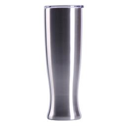 Copos de escritório on-line-30 oz aço inoxidável pilsners tumblers home office caneca de cerveja de café criativo vaso copo com tampas manter frio mma2363
