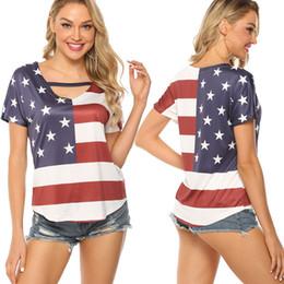 2pcs Summer Beach Mens Stars Stripes American Flag Tank Top Casual T-Shirts