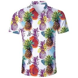 Camisa de hombre Playa de verano Camisa hawaiana Hombres Casual Manga corta Hawaii Chemise Homme Tamaño asiático camisa hombre # 3.5 desde fabricantes