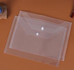 2019 suporte para cartão de papel Grande Arquivo Transparente Pastas de Arquivo De Plástico A4 Pastas de Arquivo de Saco de Documentos de Sacos de Pastas de Armazenamento de Papel de Arquivamento de Material Escolar Escritório 77