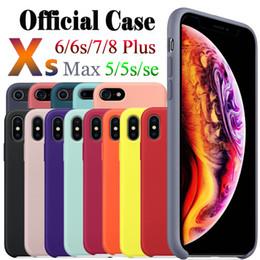 2019 cartões plásticos do iphone Tem o logotipo da marca original silicone case capa para iphone 6/6 plus / 7/7 plus / 8/8 plus / x / xs max iphone capa atacado transporte da gota