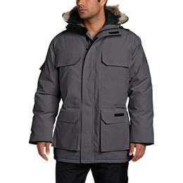 designer mulheres casaco Desconto Luxo Mens Canadá Brasão Designer Inverno Jacket Homens Mulheres Alta Qualidade de Inverno de Down Canadá Mens Designer Parka Casacos