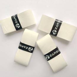 agarre de bádminton blanco Rebajas ZARSIA sticky Thin 0.5mm Overgrip grip de tenis sensación pegajosa Badminton Grip White color