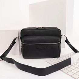 2019 bolso multi bolsillo algodon Mens bolsas de hombro diseñadores bolsa de mensajero famoso viaje bolsas maletín crossbody buena calidad PU cuero Cinco colores modelo M30233 M30243 M43