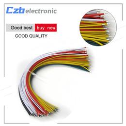Canada Fils de câble de cavalier d'étain plaqué de couleur de 100PCS 20CM flexible aux extrémités cheap tin camera Offre