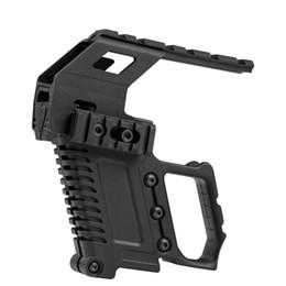 Taktisches Zubehör Schienensockel-Ladegerät Pistolen-Karabiner-Kit Schnelles Nachladen für die G17 G18 G19 Serie Mount Jagd von Fabrikanten