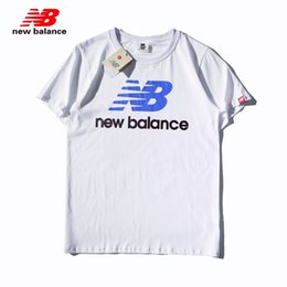 d1a26988dc9a7 H812 New BaIance Classic Cotton Solid Color Letter Print Fashion  Temperament Breathable Size M-XXL Free Delivery