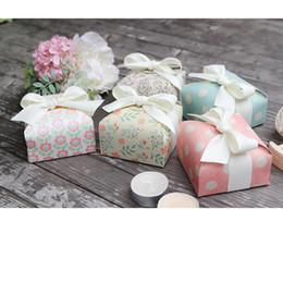 Rosa paisley papier online-rosa Paisley-Papierkasten der grünen Blume des Tupfens für Dekorationspapiertüten für Süßigkeitssüßigkeitskasten-Hochzeitsdekorationsbacken