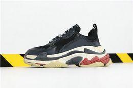 YDX Brand triple s scarpe speed trainer Zapatos para correr Moda Paris Lime Green hombres zapatos mujeres triple S desde fabricantes