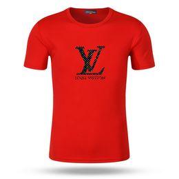 Casual camisas hombres usa online-Nueva York Moda de Alta Calidad Heron Preston Nasa EE. UU. Bandera Bordado Hombres Street Luxury Cotton Hoody Casual Manga Corta Camiseta fen