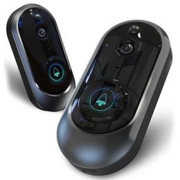2020 visión nocturna de la cámara pir 1080P Timbre de video inteligente Inalámbrico Seguridad para el hogar Visión Cámara Baterías Detección PIR Noche de conversación en dos direcciones Camer visión nocturna de la cámara pir baratos