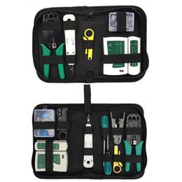 strippers rj45 Rebajas 8 / 14pcs RJ45 RJ11 RJ12 LAN Ethernet por cable portátil que prensa pelacables Alicates 831F