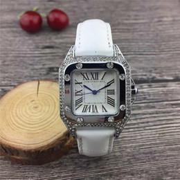 Diamantes de genebra on-line-2019 Luxo GENEVA Relógios Das Mulheres Diamantes Relógios Pulseira Senhoras Designer de Relógios De Pulso 8 Cores Frete Grátis