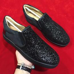 хорошая новая обувь Скидка хороший классический красный низ легко положить ходьба теннисные алмазные кроссовки новые женщины мужчины полуботинки унисекс